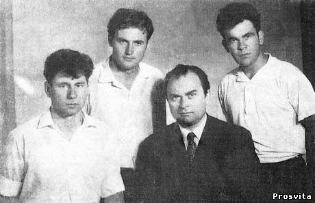 В.Мелещенко, А.Анастасьєв, В.Зленко, Д.Павличко