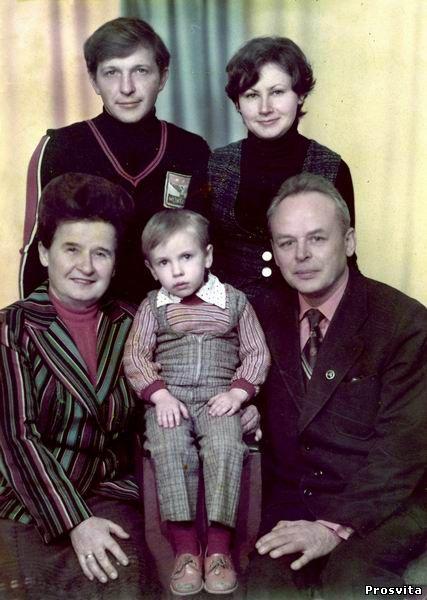 Родина М.Василенка. 1982
