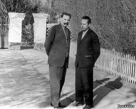 Н.Білоконь і М.Василенко. Асканія-Нова, 1968