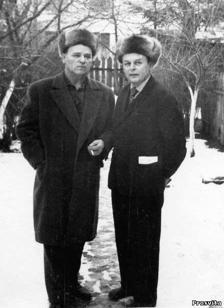 Д.Паламарчук і М.Василенко. Ірпінь, 1973
