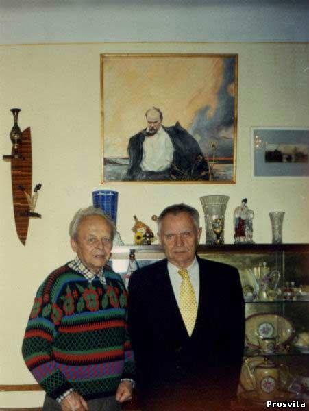 М.Василенко і Д.Павличко. 2004