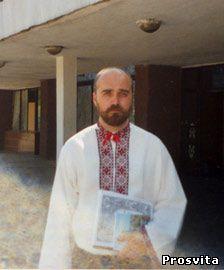 Співак Л.Рейт з хору Журавлі